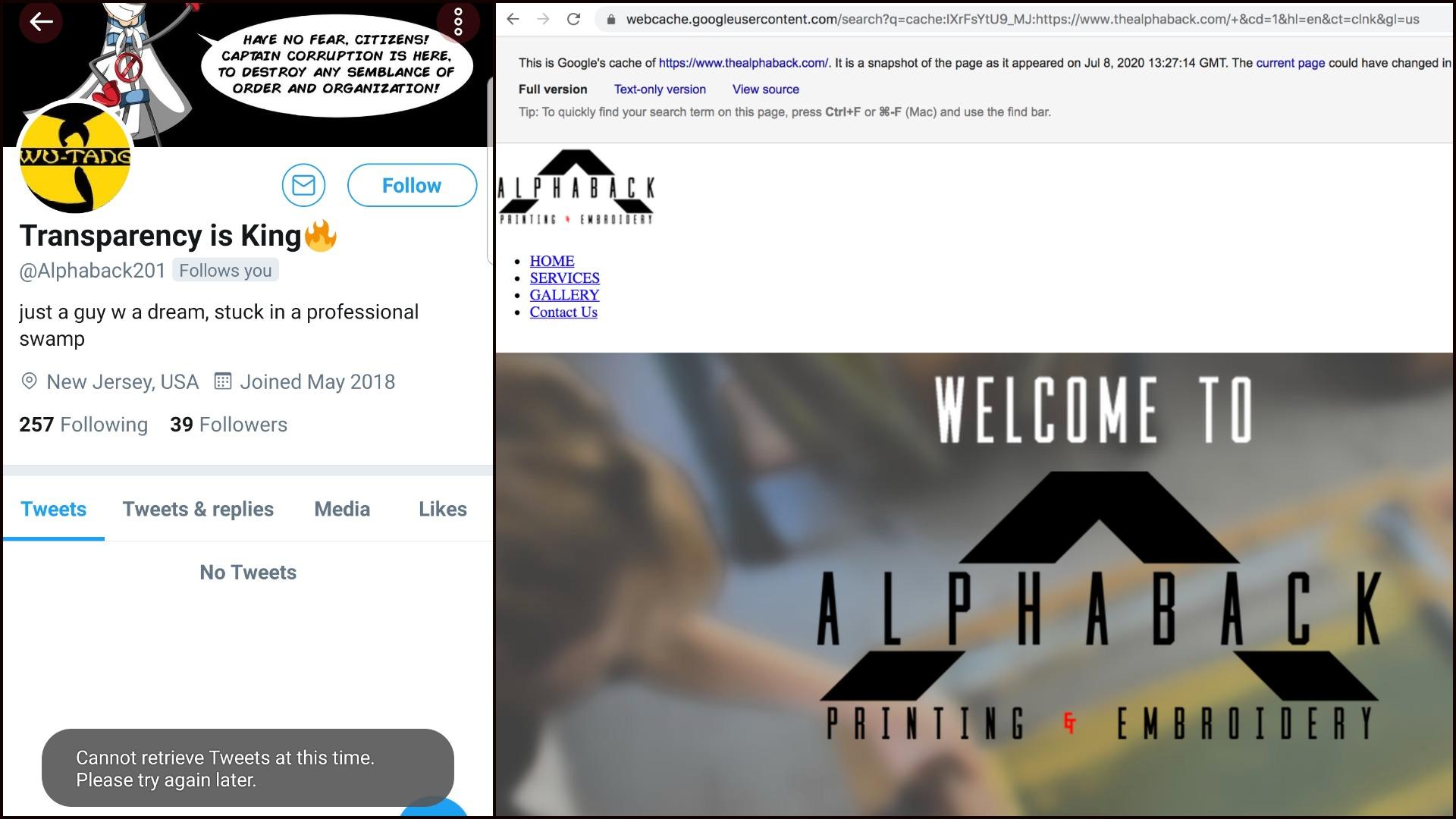 Alphaback201 - TheAlphaback - Erik Infantes