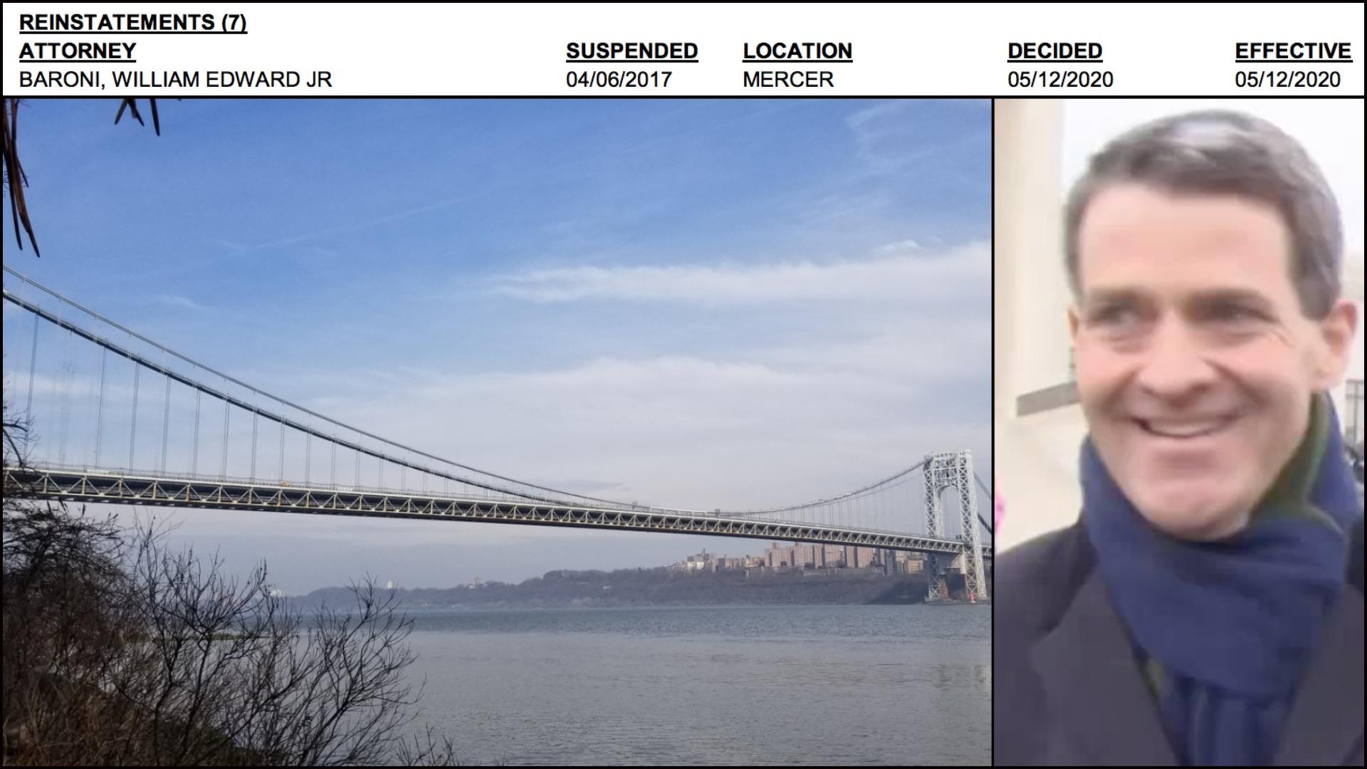 Bill Baroni - Brigdegate - George Washington Bridge