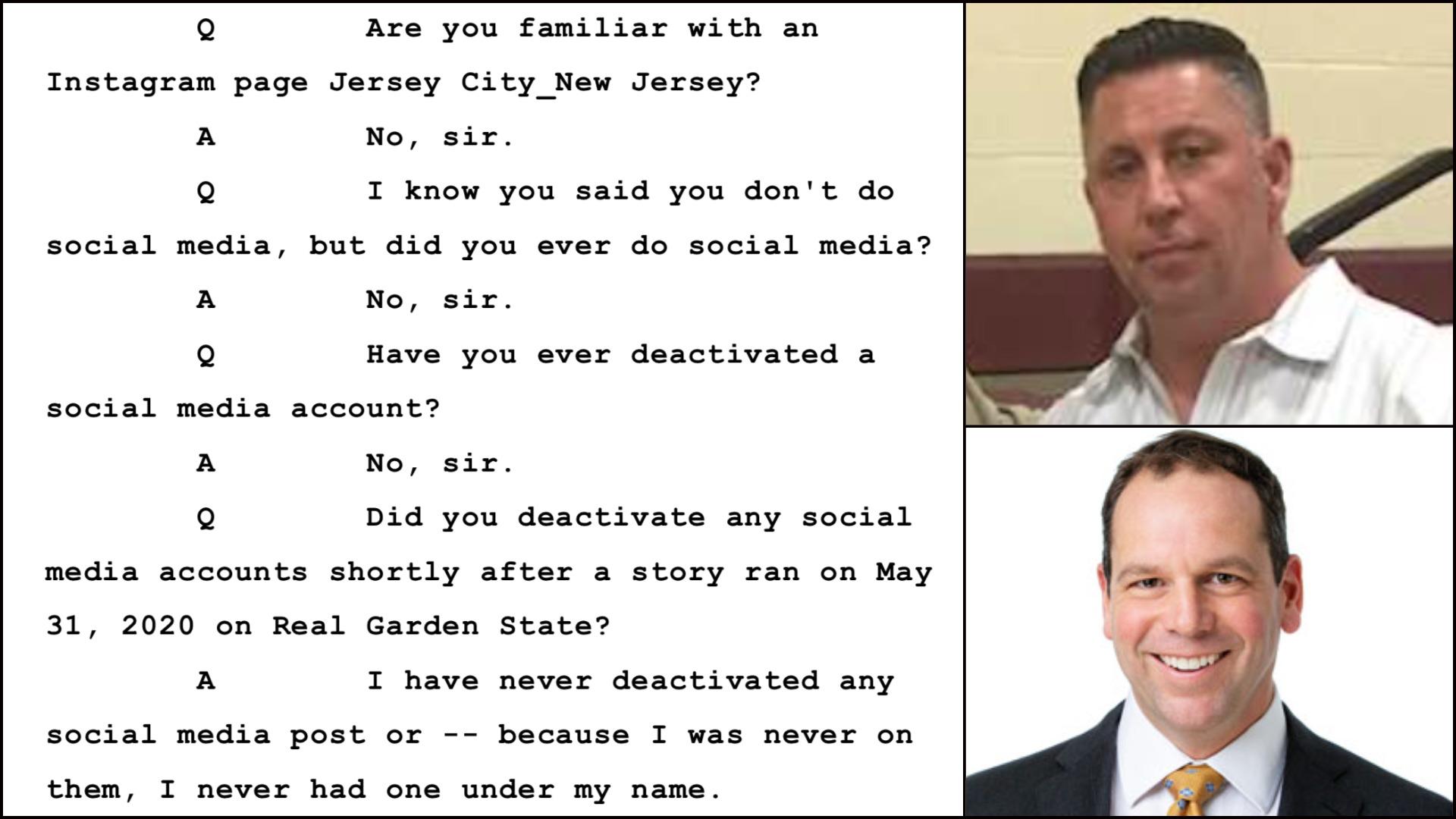 JCPD Lt. Patrick Fay - Attorney Jason Orlando - @JerseyCity_NewJersey