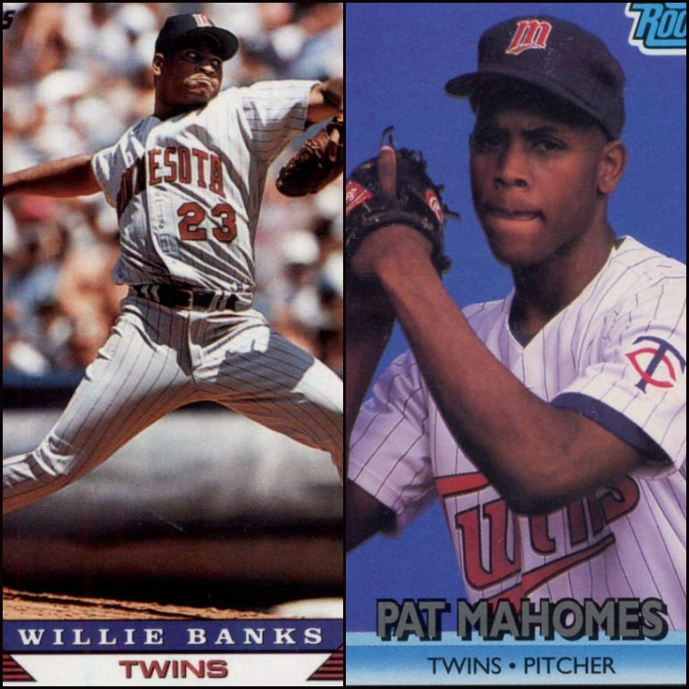 Willie Banks - Pat Mahomes - Twins