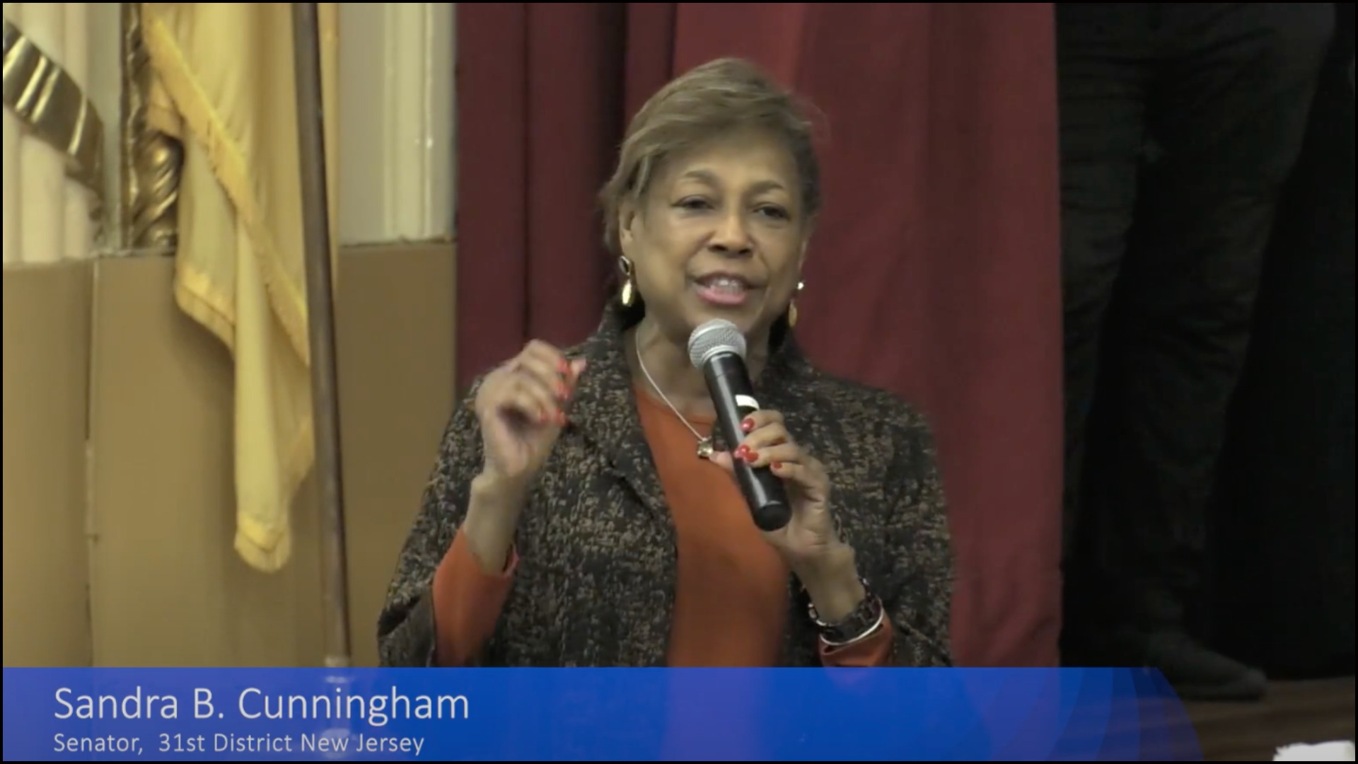 State Sen. Sandra Cunningham