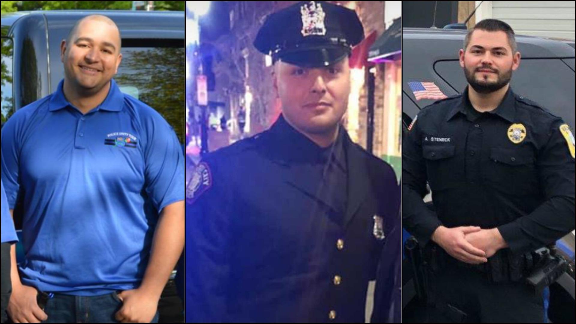 Kevin Jones - Angelo Alas - Anthony Steneck - Belmar Police - Jersey City Police