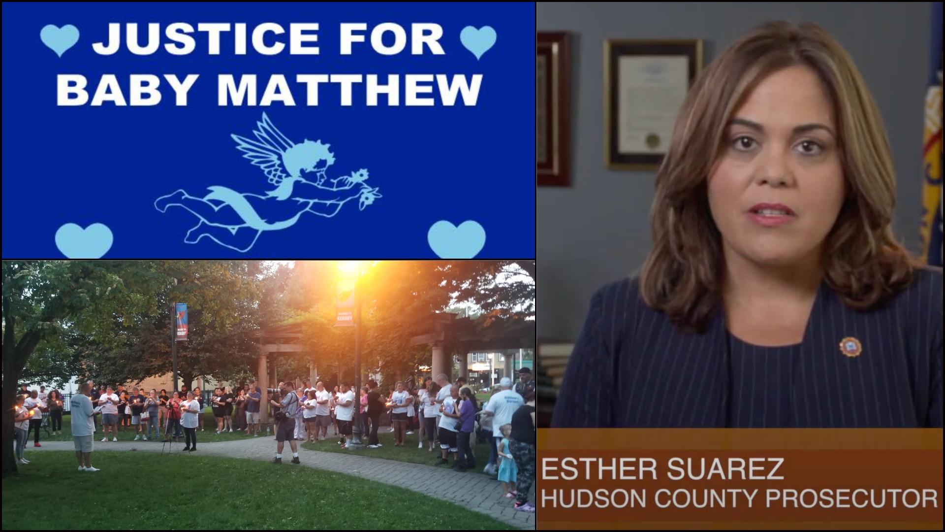 Justice for Baby Matthew - Kearny, NJ - Hudson County Prosecutor Esther Suarez