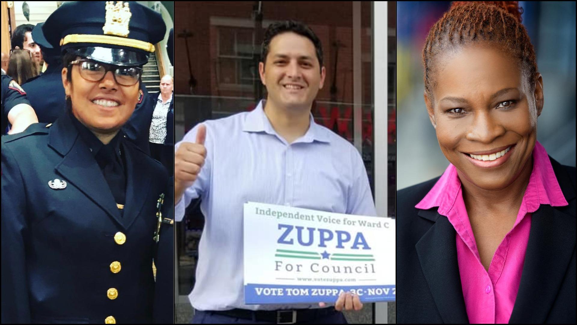 Rossy Barzola - Tom Zuppa - Donna Glaesener - Jersey City