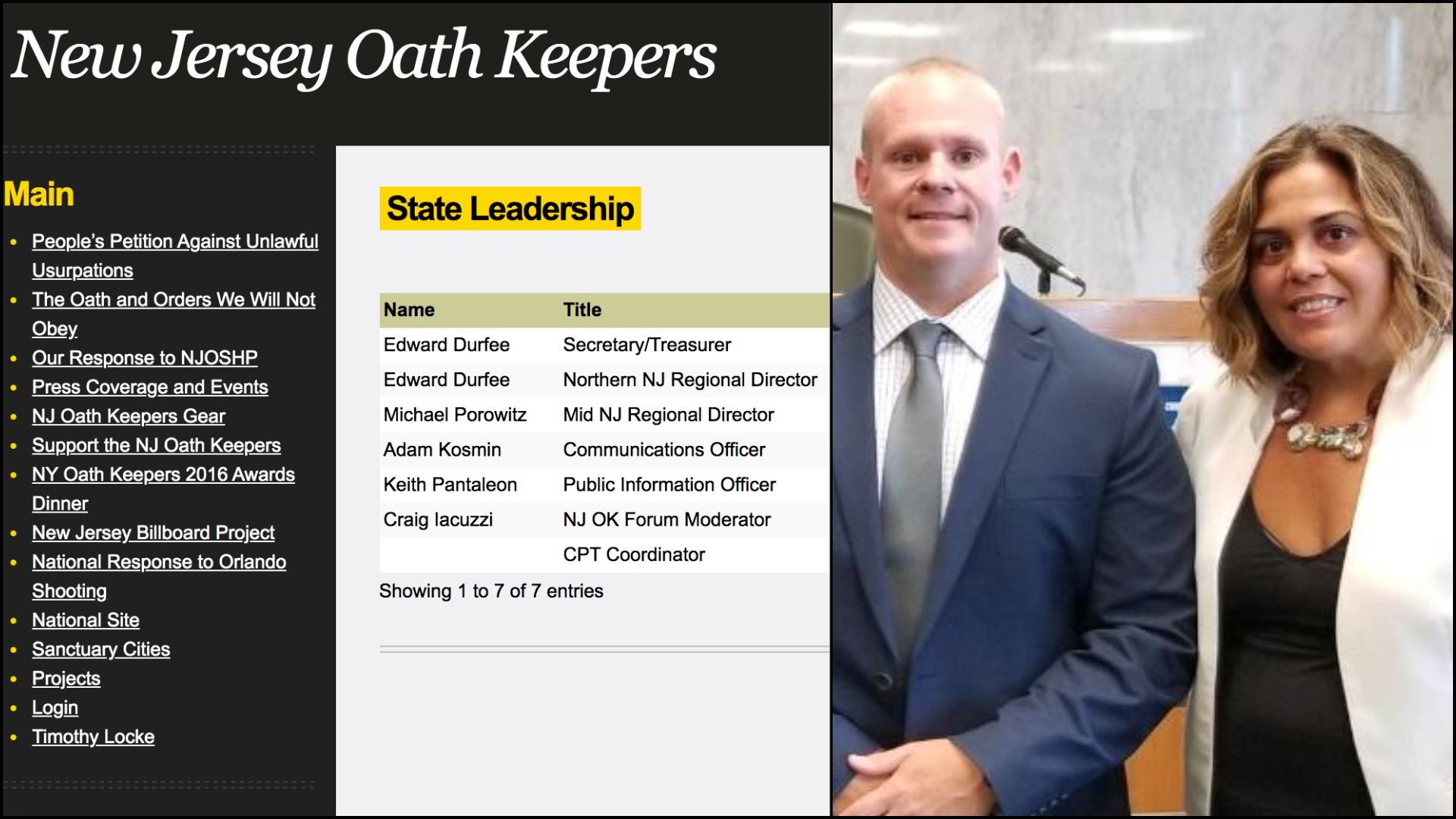 NJ Oath Keepers - Det. Craig Iacouzzi - Hudson Prosecutor Esther Suarez